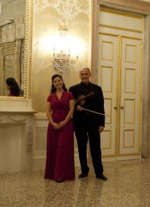 Fabio Missaggia e Hanna Bayodi-Hirt, al Gran Teatro La Fenice