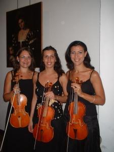 Tre (Grazie) violiniste