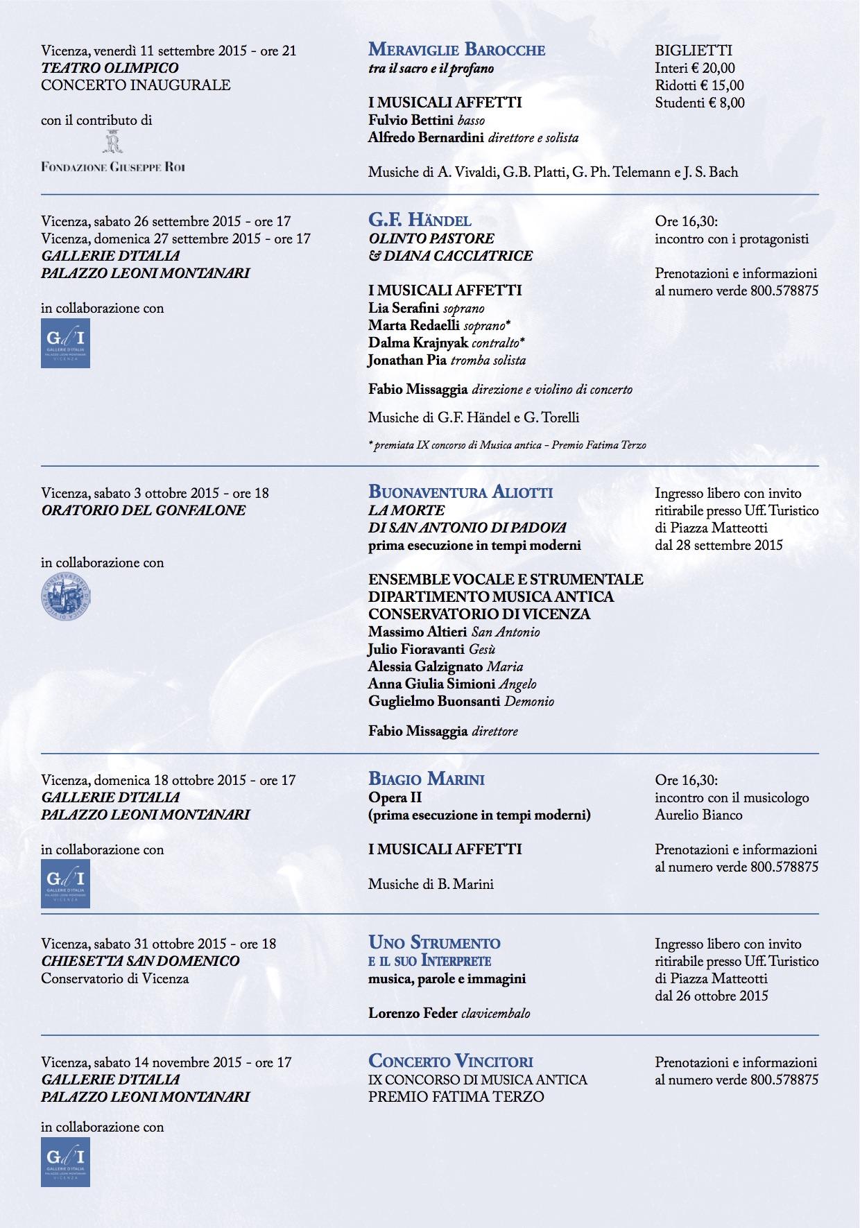 appuntamenti S&M2015