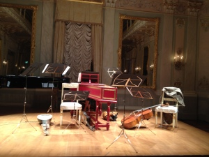 i nostri strumenti alle Sale Apollinee del Gran Teatro La Fenice